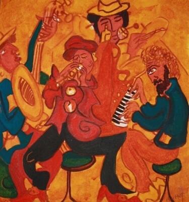 Mayhem In a Jazz bar