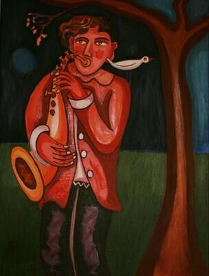 Saxophonist & Bird