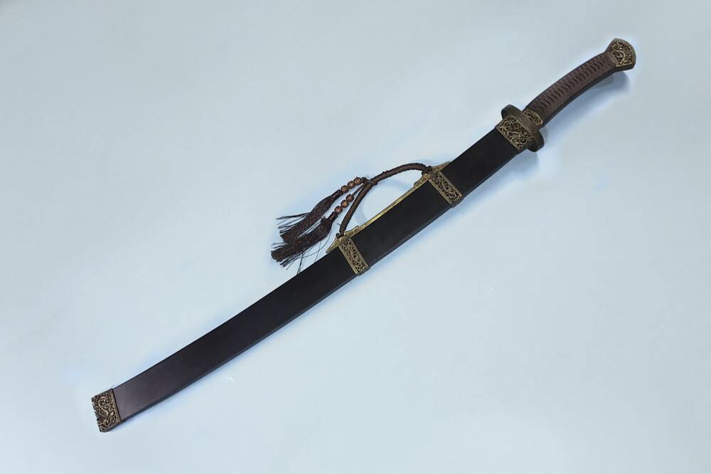 Official saber liuye dao sword