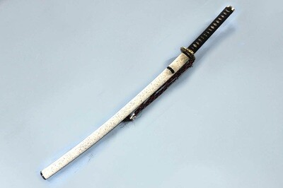 Gunome style hamon katana