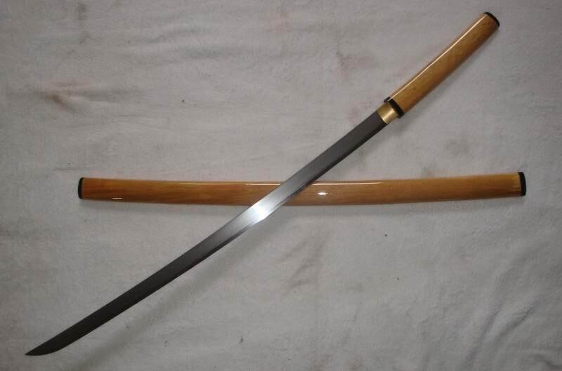 JKOO-Elite simplicity shirasaya katana