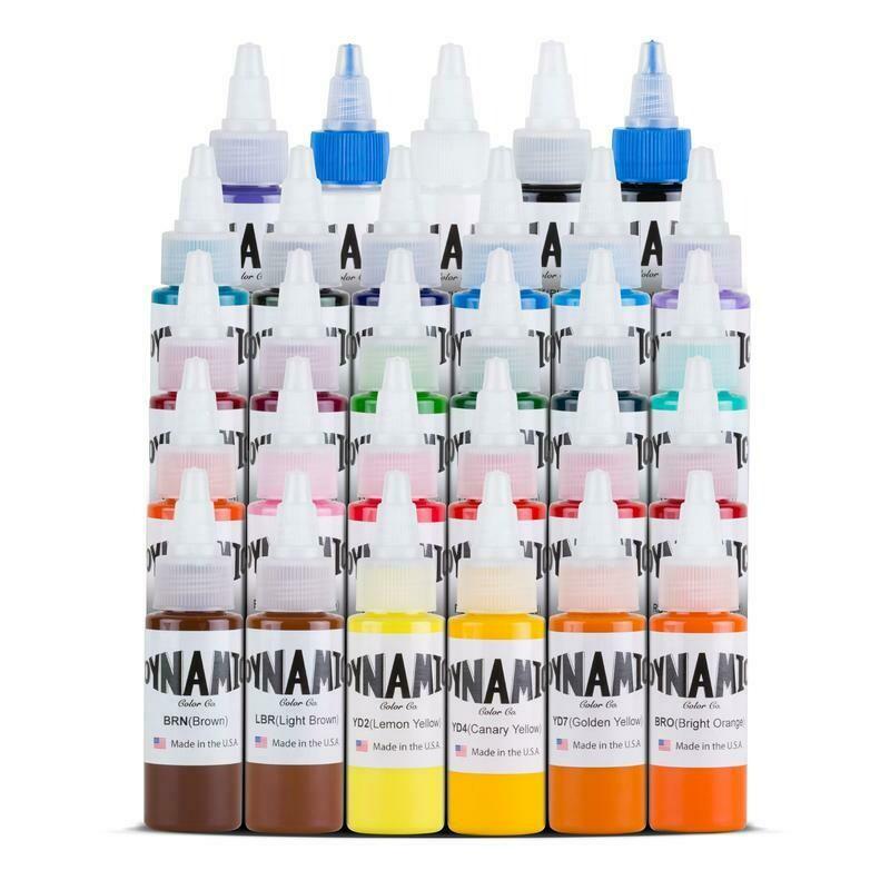 DYNAMIC Master Collection Tattoo Ink Color Set -1 oz*29. Bottles
