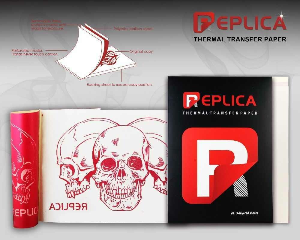 REPLICA thermal&free hand stencil paper-20pcs