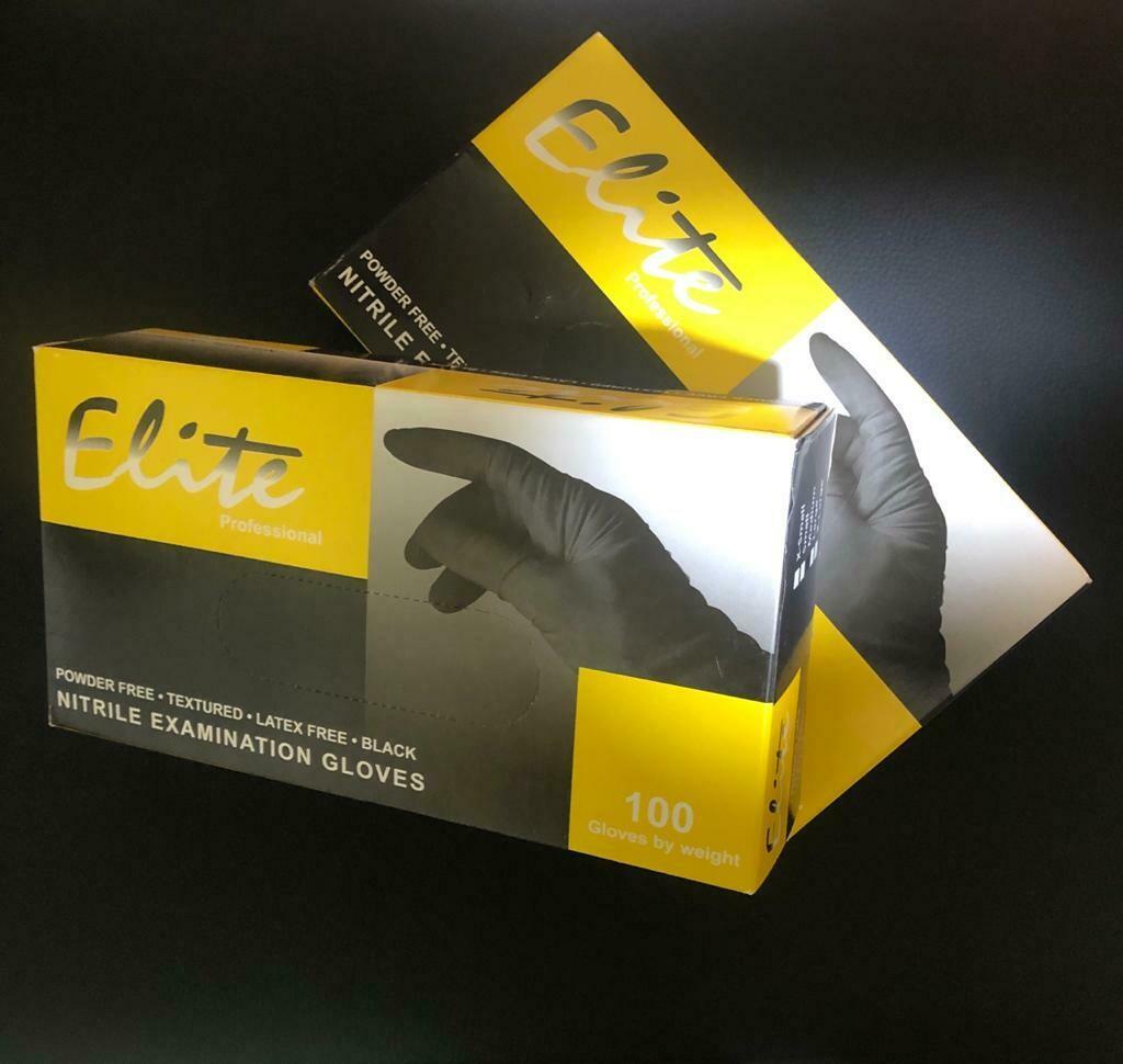 ELITE/ Nitrile tattoo & piercing gloves S/M/L