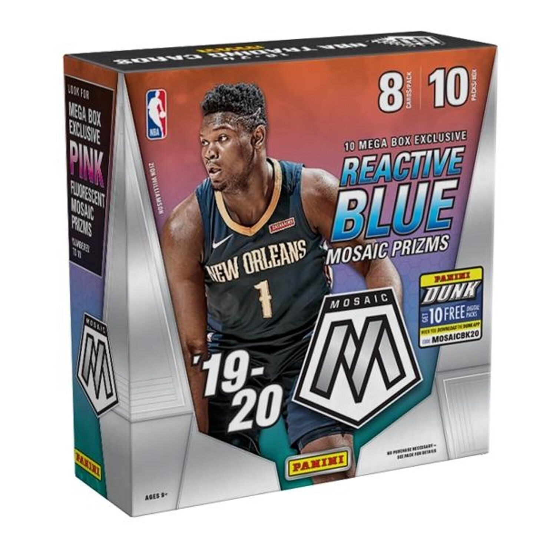 2019-20 Panini Mosaic Basketball Sealed Mega Box