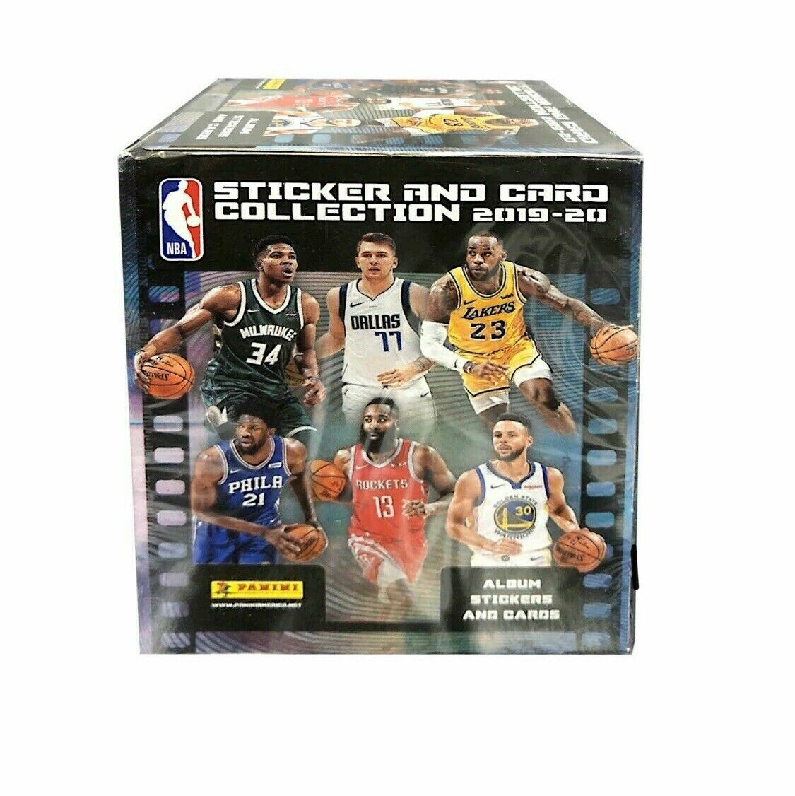 2019-20 Panini NBA Basketball Sticker Collection 50 Pack Sealed Box