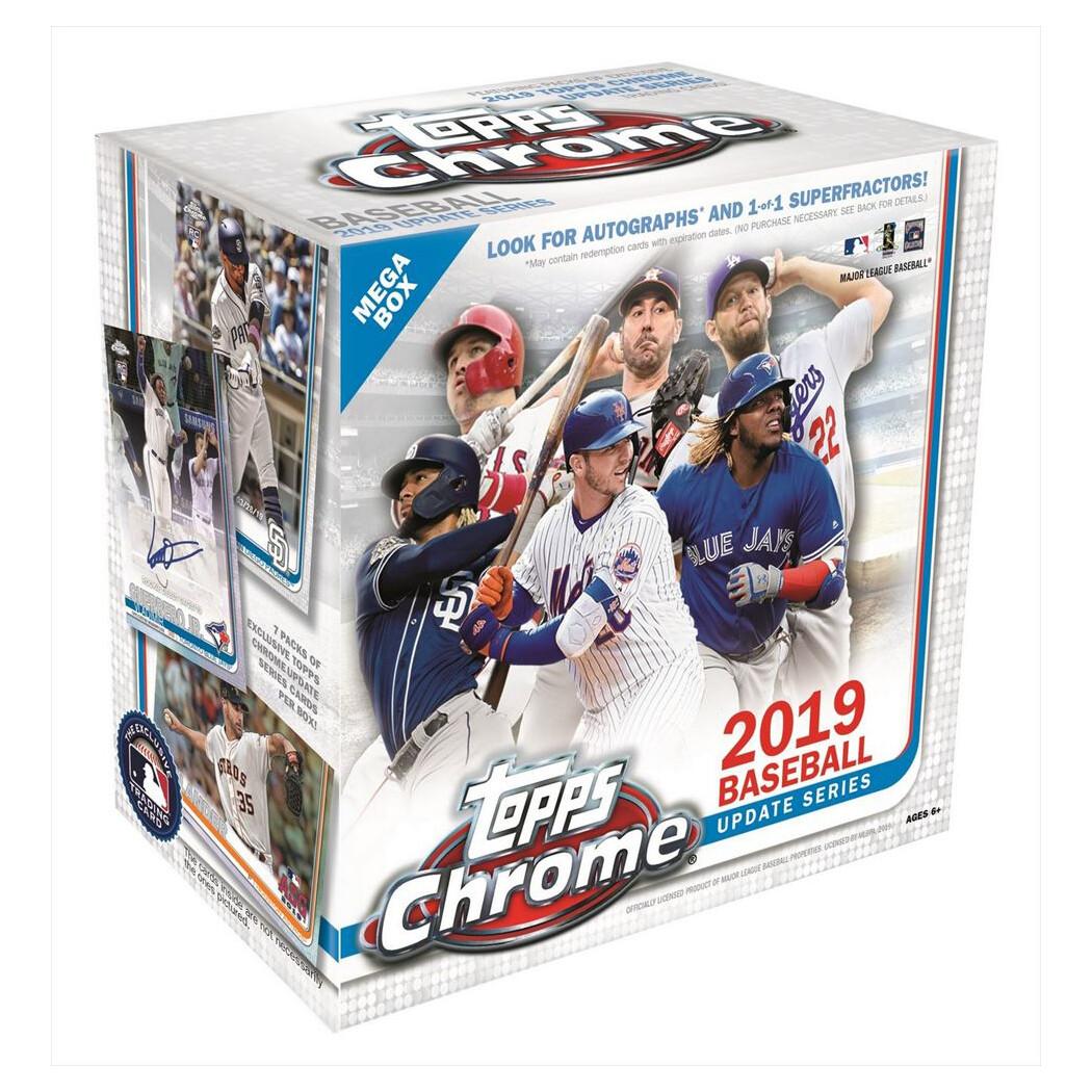 2019 Topps Chrome Update Baseball Mega Box