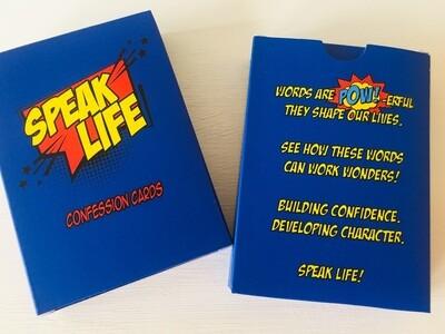 Speak Life Cards