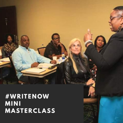 #WriteNow [Mini Masterclass]