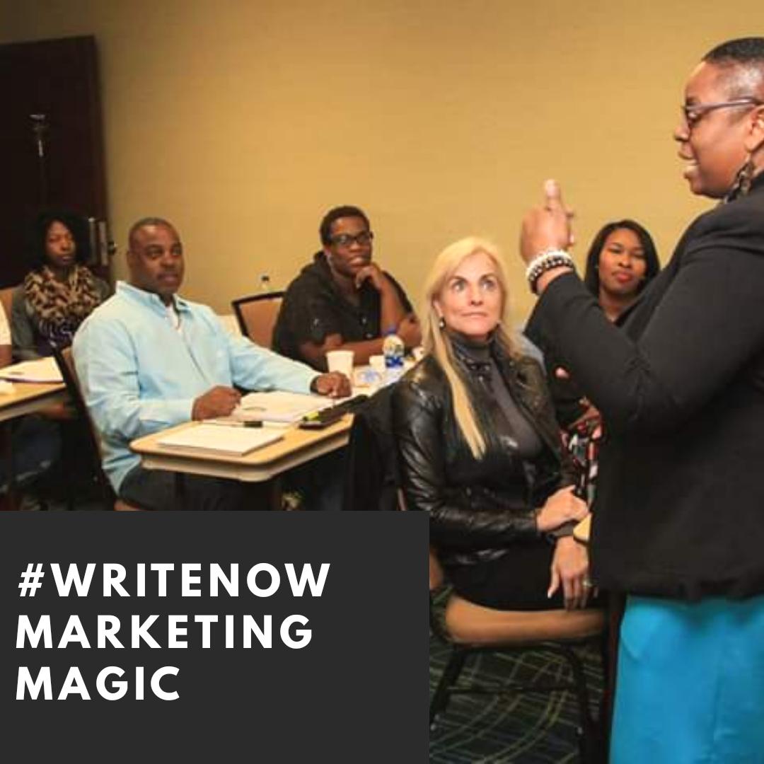#WriteNow [Marketing MAGIC]