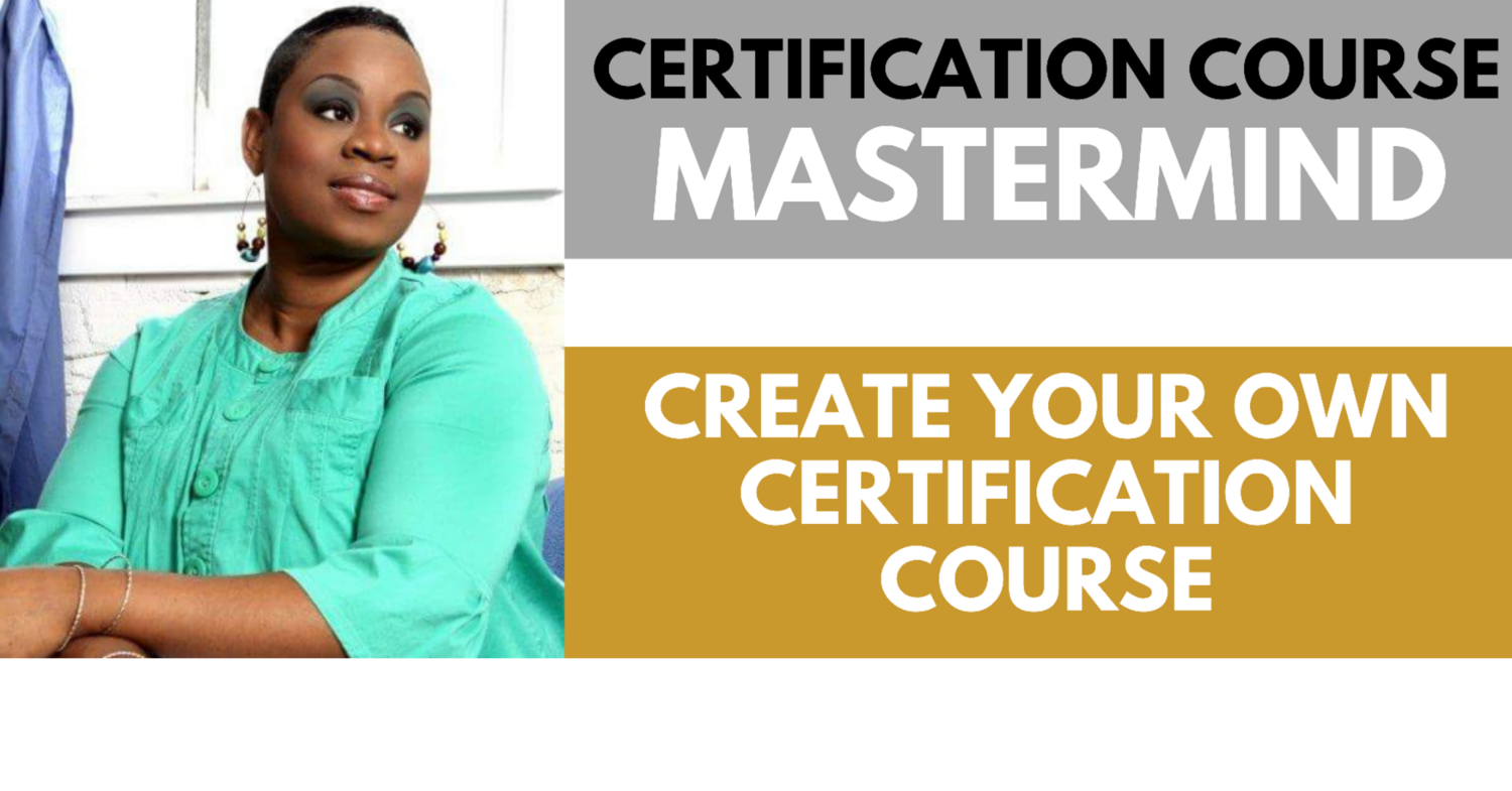 Certification Course Creation