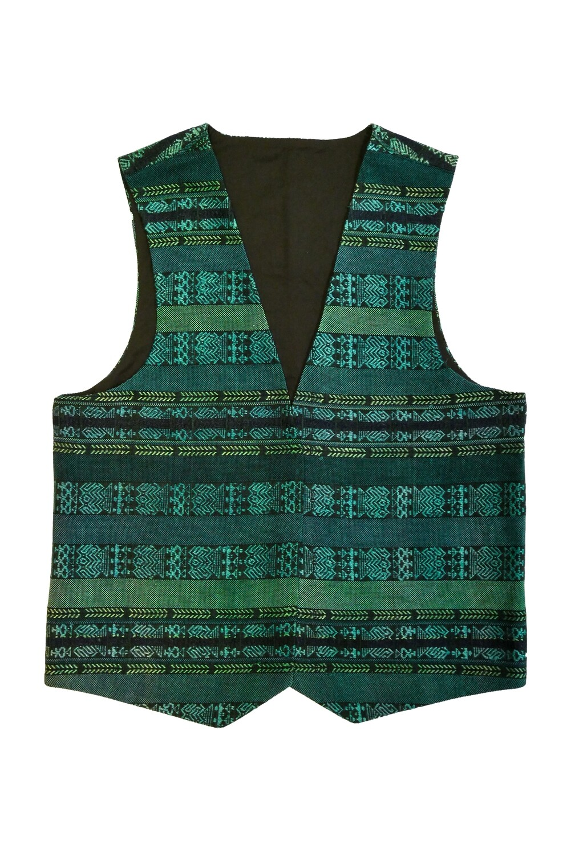 """YAKAYA Herren Weste """"Shanti"""" mit einem schönem handgewebten Guatemala Stoff - jedes Teil ein Unikat - Ethno, Hippie, Boho - Style"""
