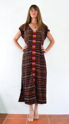 YAKAYA Damen Kleid Goddess Maxi Dress