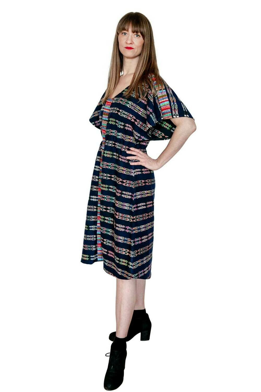 "YAKAYA Designer Kleid ""Jyoti"" Ethnic Dress Ikat Boho"