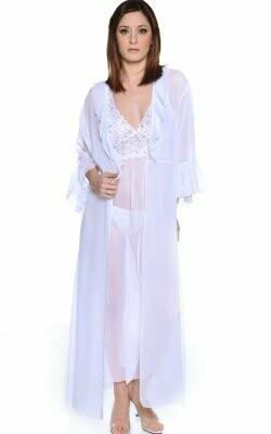 Chiffon Long Robe