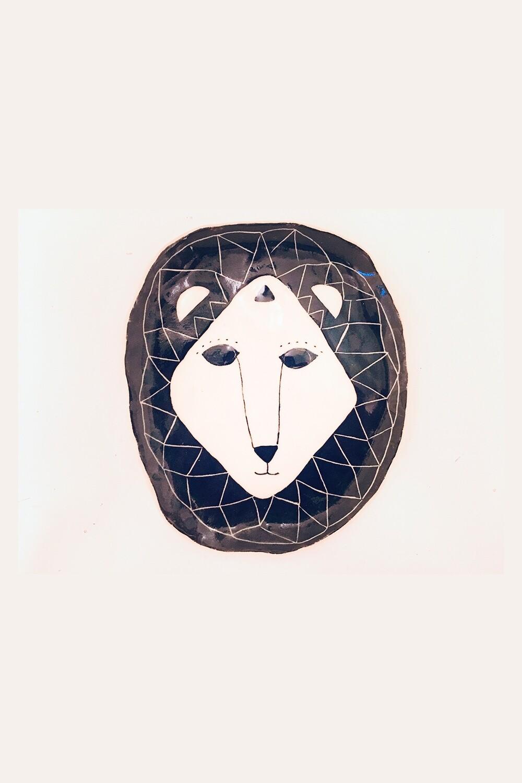 Lion Platter