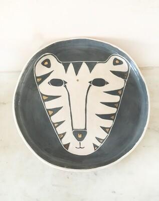 Tiger Platter
