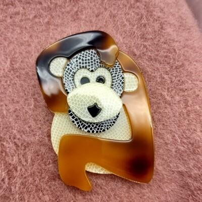 Grand singe en acétate
