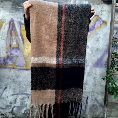 Grosse écharpe à Carreaux