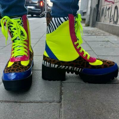 Boots Multi color