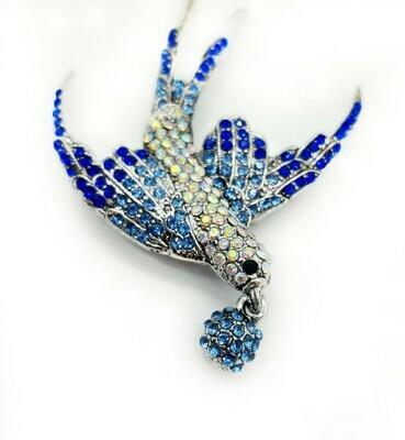 l'Oiseau bleu à la perle