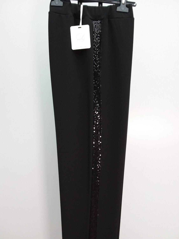 ART165 DIVA - Pantalone c/banda paillettes