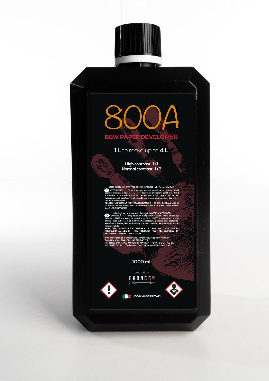 800A paper developer
