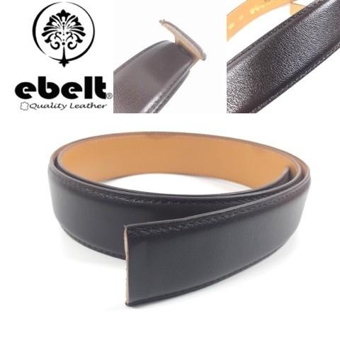 [香港品牌 EBELT] 男裝高級頭層牛皮真皮皮帶/淨皮帶 Top Grade Full Grain Cow Leather Belt Strap only 3.4cm