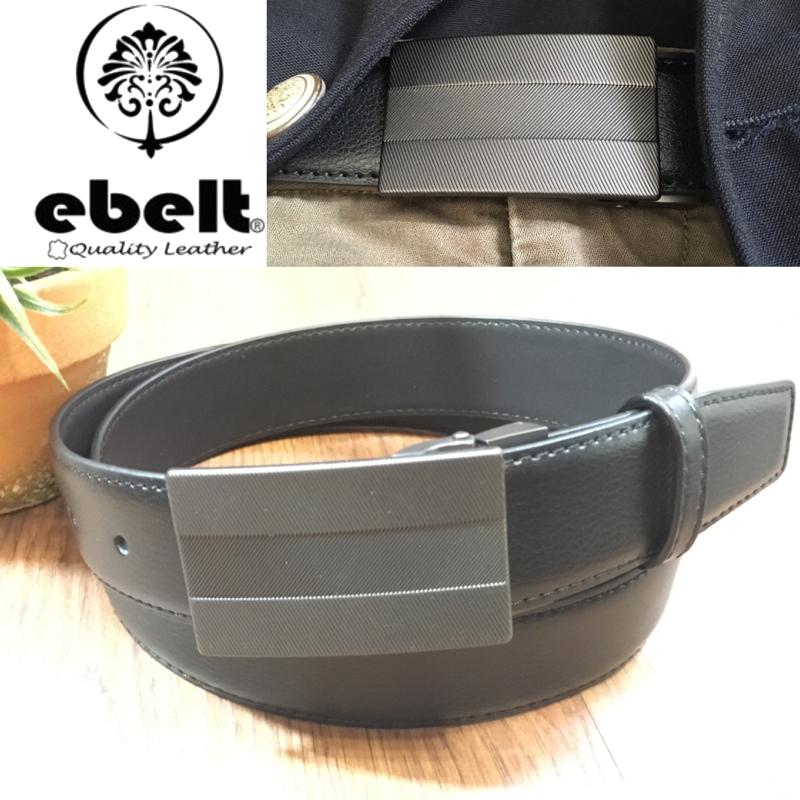 [香港品牌 EBELT] 光面牛皮皮帶 / 正裝皮帶 Cow Split Leather Dress Belt 3.3 cm - ETV100