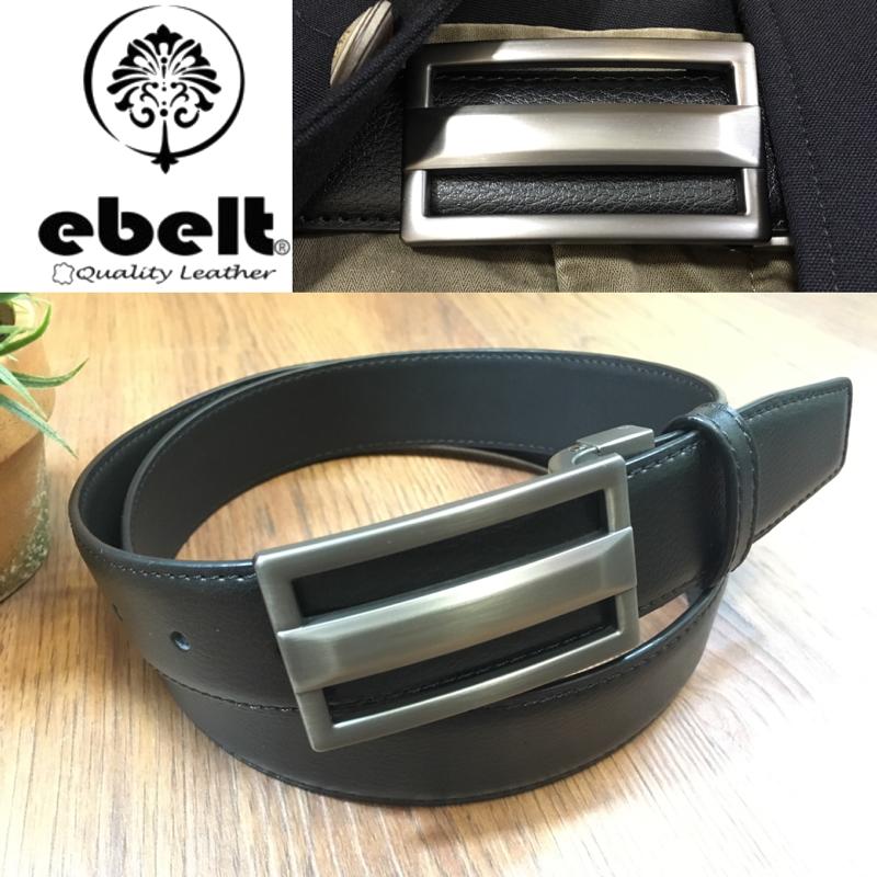 [香港品牌 EBELT] 光面牛皮皮帶 / 正裝皮帶 Cow Split Leather Dress Belt 3.3 cm - ETV102