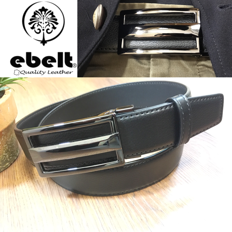 ebelt 光面牛皮皮帶 / 正裝皮帶 Cow Split Leather Dress Belt 3.3 cm - ETV103