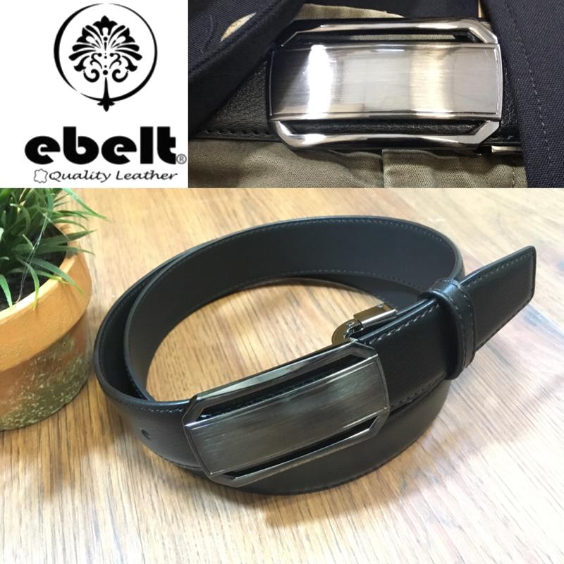 [香港品牌 EBELT] 光面牛皮皮帶 / 正裝皮帶 Cow Split Leather Dress Belt 3.3 cm - ETV105
