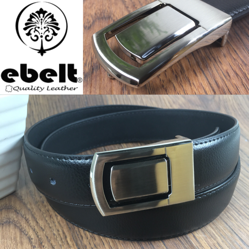 ebelt 光面牛皮皮帶 / 正裝皮帶 Cow Split Leather Dress Belt 3.3 cm - ebm0124M