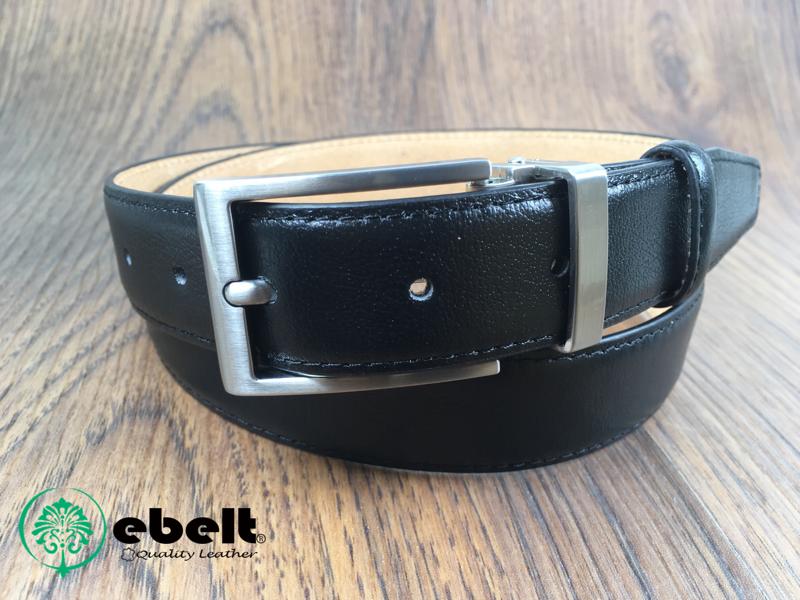 [香港品牌 EBELT] 男裝高級頭層牛皮真皮皮帶 3cm Top Grade Full Grain Cow Leather Belt