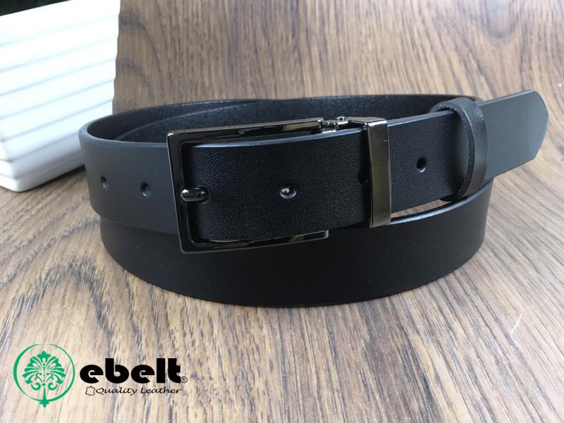 ebelt 不夾層光面牛皮皮帶 PATENT SPLIT LEATHER BELT 2.9cm- ebc0316B