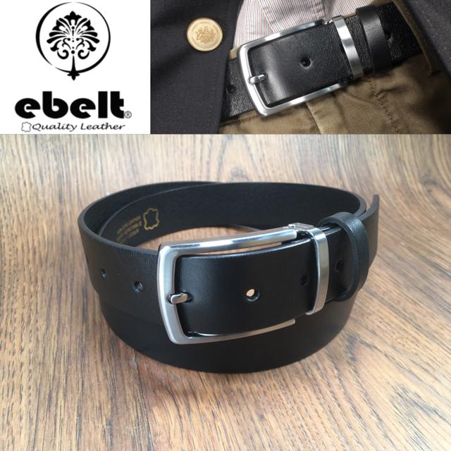 [香港品牌 EBELT] 意大利頭層牛皮真皮皮帶 Full Grain Italian Cow Leather Belt 3.4cm - ebc0325