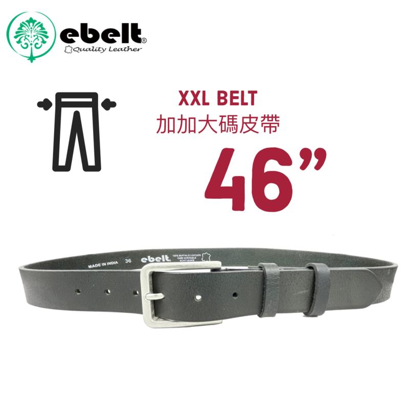 """[香港品牌 EBELT] 加加大碼真皮皮帶 XXL BUFFALO FULL GRAIN LEATHER BELT 3.2cm-EBC0328A-46"""""""