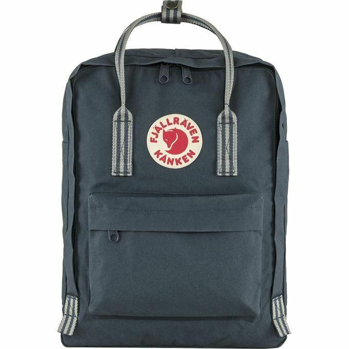 Fjallraven Kanken 狐狸袋 背囊 書包戶外背包 School bag outdoor backpack 16L - Navy / Long Stripes
