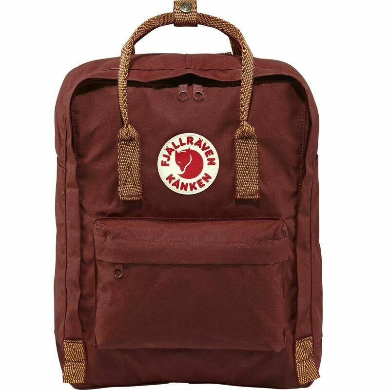 Fjallraven Kanken 狐狸袋 背囊 書包戶外背包 School bag outdoor backpack 16L - Ox Red / Goose Eye