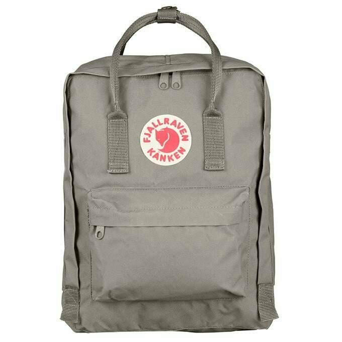 Fjallraven Kanken 狐狸袋 背囊 書包戶外背包 School bag outdoor backpack 16L - Fog