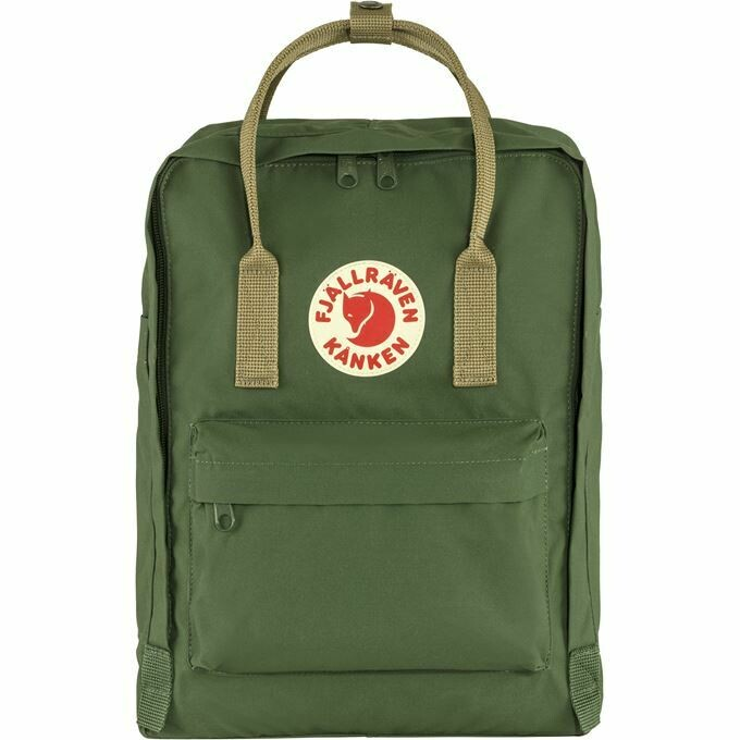 Fjallraven Kanken 狐狸袋 背囊 書包戶外背包 School bag outdoor backpack 16L - Spruce Green / Clay