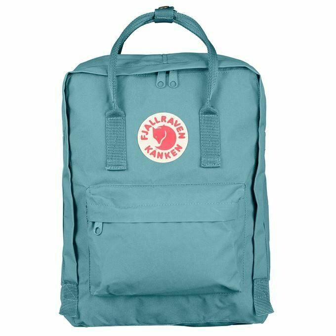 Fjallraven Kanken 狐狸袋 背囊 書包戶外背包 School bag outdoor backpack 16L - Sky Blue