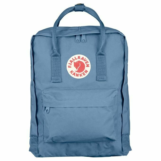 Fjallraven Kanken 狐狸袋 背囊 書包戶外背包 School bag outdoor backpack 16L - Blue Ridge