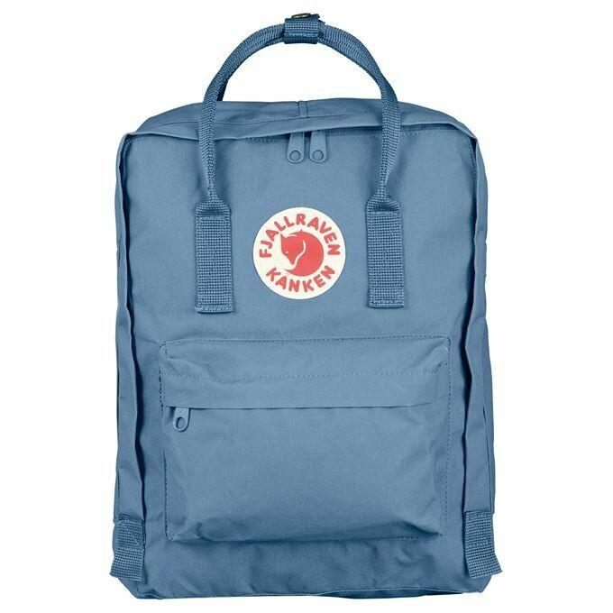 Fjallraven Kanken 狐狸袋 背囊 書包戶外背包 School bag outdoor backpack 16L - Blue Ridge