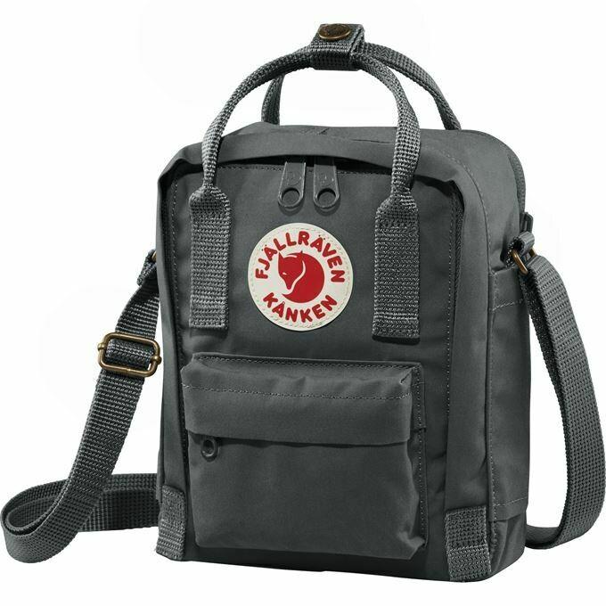 Fjallraven Kanken [狐狸袋] 斜孭袋Sling Cross Shoulder Bag - Graphite
