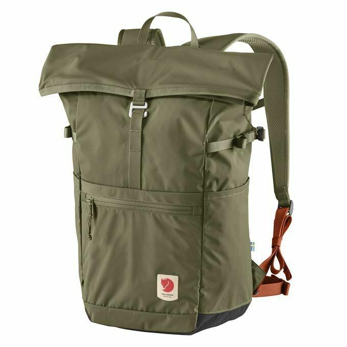 Fjallraven [狐狸袋] High Coast Foldsack 24 輕身野外背包 可摺疊收藏 24L - Green
