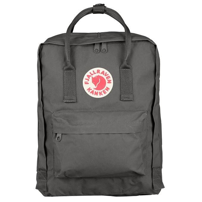Fjallraven Kanken 狐狸袋 背囊 書包戶外背包 School bag outdoor backpack 16L - Super Grey