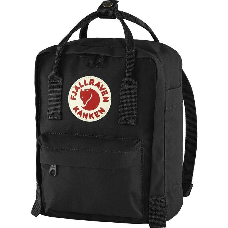 Fjallraven Kanken Mini 狐狸袋 迷你背囊 書包戶外背包 School bag outdoor backpack 7L - Black