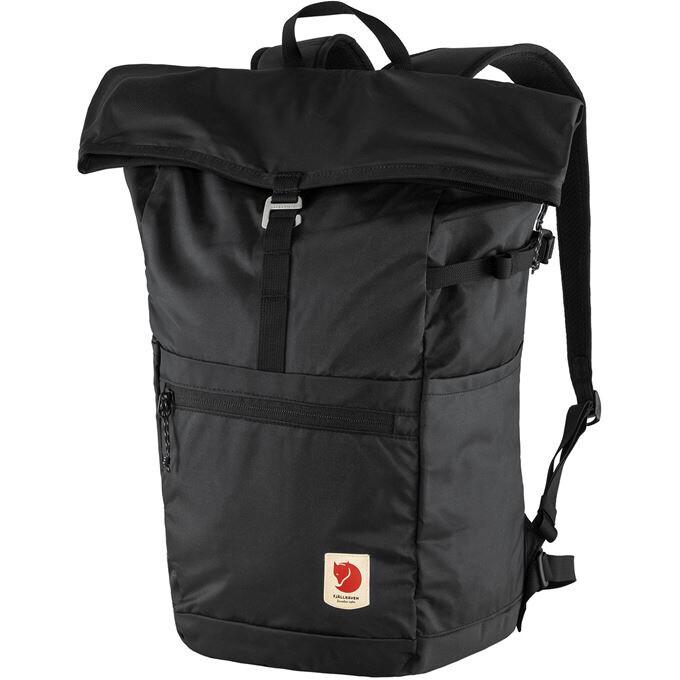 Fjallraven [狐狸袋] High Coast Foldsack 24 輕身野外背包 可摺疊收藏 24L - Black