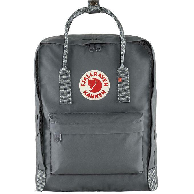 Fjallraven Kanken 狐狸袋 背囊 書包戶外背包 School bag outdoor backpack 16L - Super Grey / Chess Pattern